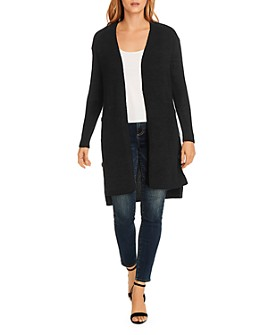 VINCE CAMUTO - Button-Side Open Front Cardigan