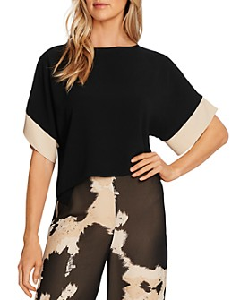 VINCE CAMUTO - Colorblock Sleeve Top