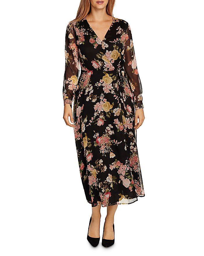 VINCE CAMUTO - Beautiful Blooms Floral Maxi Dress