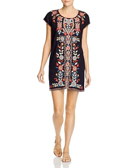 Johnny Was - Maisie Embroidered Shift Dress