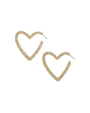 Baublebar Ciena Heart Hoop Earrings