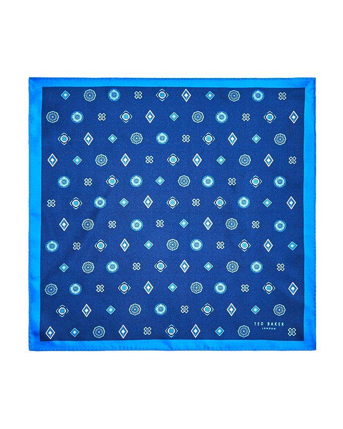 Ted Baker - Medallion Silk Pocket Square