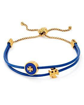 Tory Burch - Kira Enamel Logo Slider Bracelet