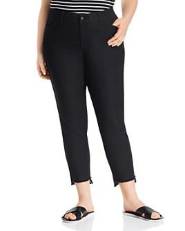 Lafayette 148 New York Plus - Mercer Step-Hem Ankle Jeans in Indigo