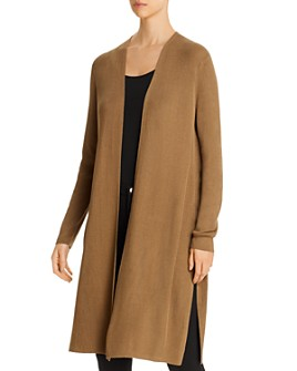 Lafayette 148 New York - Ribbed Open Duster Cardigan