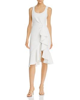 Cinq à Sept - Sleeveless Ruffle Midi Dress