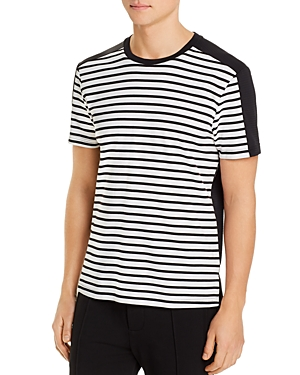 Karl Lagerfeld Paris Stripe-Block Tee