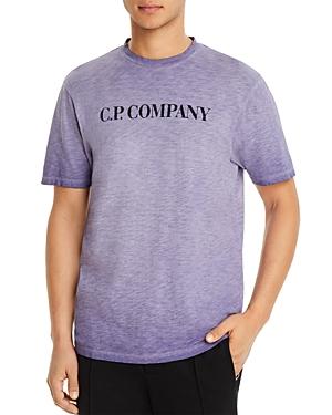Cp Company Malafile Graphic Logo Tee-Men