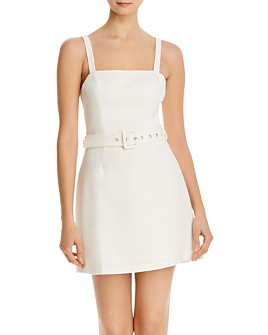 FRENCH CONNECTION - Belted Mini Dress - 100% Exclusive