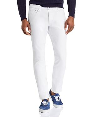 Michael Kors Parker Slim Fit Jeans in White