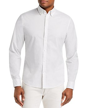 Michael Kors - Mini-Dot Stretch Slim Fit Button-Down Shirt