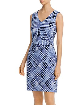 NIC and ZOE - Cross Over Twist Printed Dress