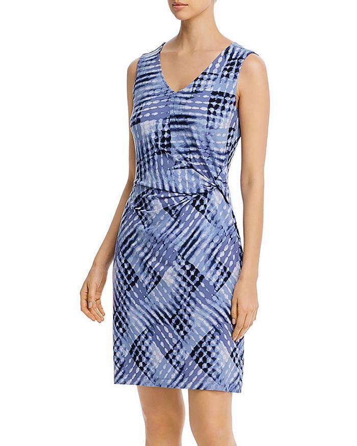 NIC and ZOE - Cross Over Twist Printed Dress