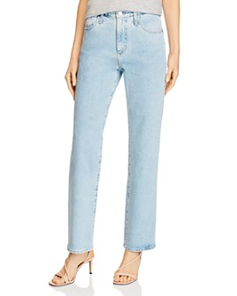 AG - Alexxis High-Rise Vintage Straight-Cut Jeans
