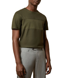 Ted Baker - Helter Cotton Paneled Tee