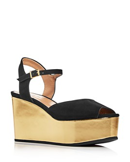 Marni - Women's Platform Wedge Sandals
