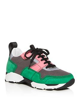 Marni - Women's Color-Block Low-Top Sneakers