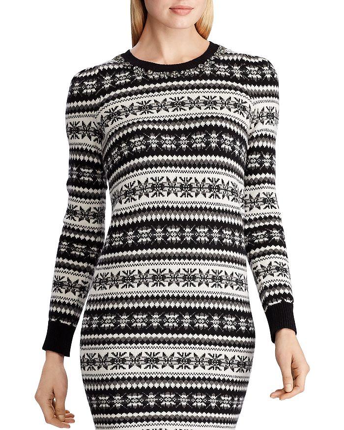 Ralph Lauren - Fair Isle Sweater Dress