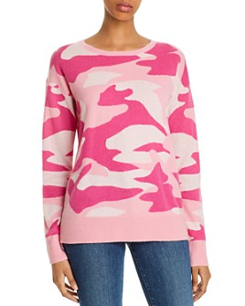 C by Bloomingdale's - Cashmere Camouflage Sweater - 100% Exclusive