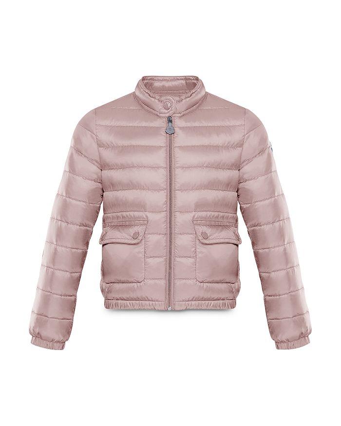 Moncler Girls' Lans Packable Down Puffer Jacket - Little Kid In Light Pink