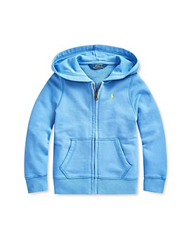 Ralph Lauren - Girls' French Terry Hoodie - Little Kid