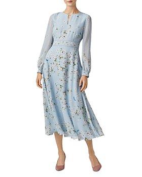 HOBBS LONDON - Skye Floral Silk Midi Dress