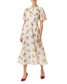 HOBBS LONDON - Savannah Floral Midi Dress