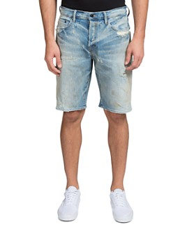 PRPS - Overland Slim Fit Denim Shorts in Indigo