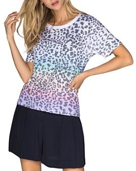 CHRLDR - Rainbow Leopard Print T-Shirt