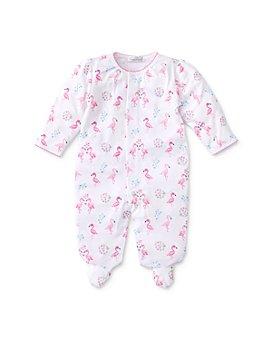 Kissy Kissy - Girls' Cotton Flamingos Footie - Baby