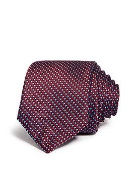 Ted Baker - Micro Tick Silk Skinny Tie