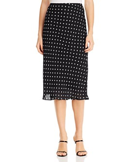 Elie Tahari - Alex Polka-Dot Skirt