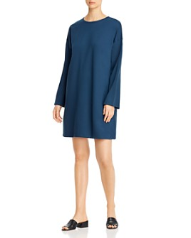 Eileen Fisher - Relaxed Crewneck Dress