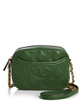 Tory Burch - Fleming Soft Quilted Leather Camera Bag