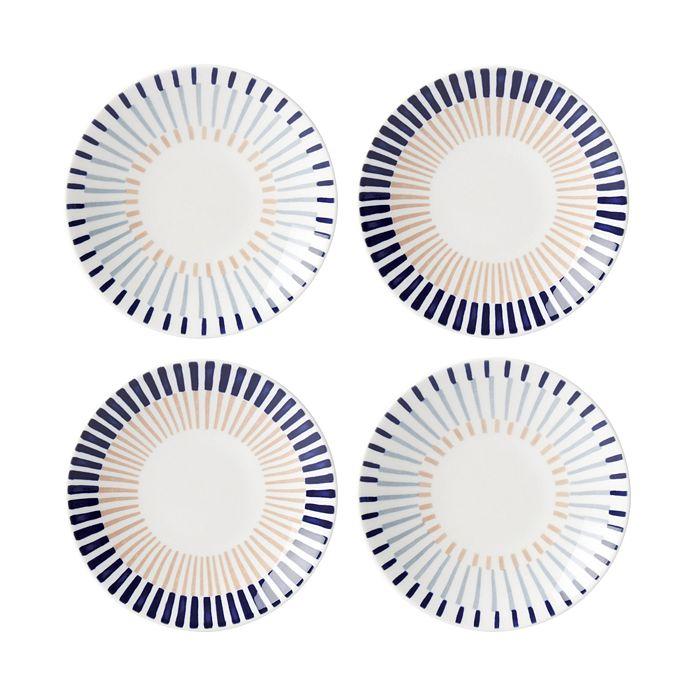 kate spade new york - Brook Lane Tidbit Plates, Set of 4