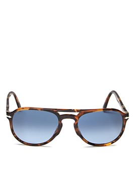 Persol - Men's Polarized Aviator Sunglasses, 55mm