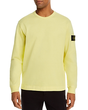 Stone Island Cotton Solid Logo-Patch Sweatshirt