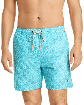 Psycho Bunny - Swinley Printed Swim Trunks