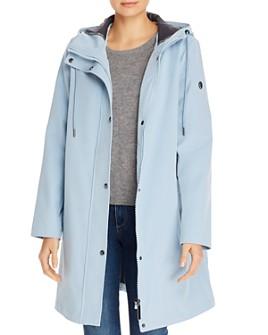 Calvin Klein - A-Line Hooded Coat