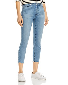 PAIGE - Hoxton Cropped Skinny Jeans