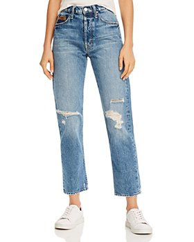 MOTHER - The Tomcat Ankle Straight-Leg Jeans in Take Me Even Higher