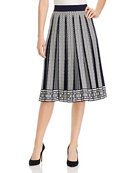 Tory Burch - Gemini Link Pleated Midi Skirt