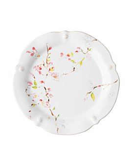 Juliska - Berry & Thread Floral Sketch Cherry Blossom Dinner Plate