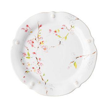 Juliska - Berry & Thread Floral Sketch Cherry Blossom Dinner Plate
