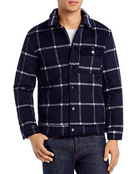BLANKNYC - Windowpane Slim Fit Coat