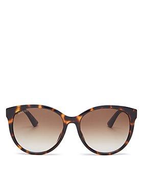 Gucci - Women's Round Sunglasses, 56mm
