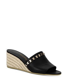 Salvatore Ferragamo - Women's Embellished Espadrille Wedge Sandals