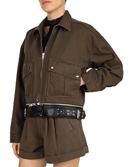 The Kooples - Belted Utility Jacket