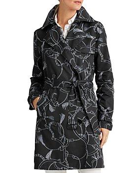Ralph Lauren - Printed Trench Coat