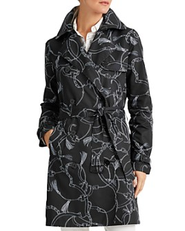 Ralph Lauren - Printed Trench Coat